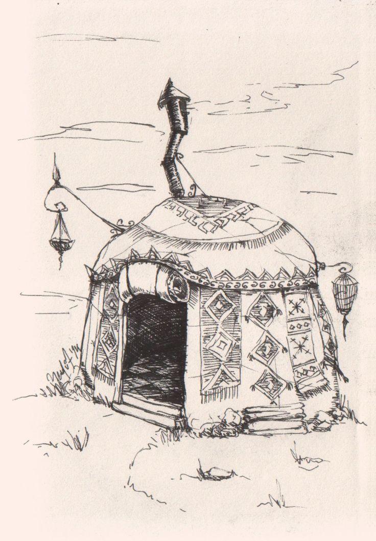 Turkish Shaman Woman's Tent