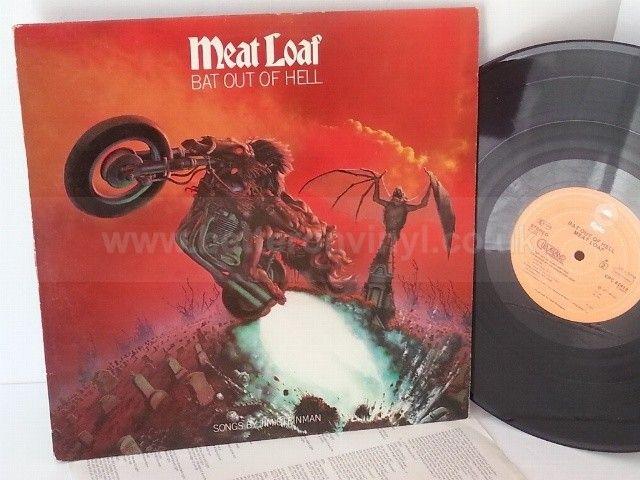 MEAT LOAF bat out of hell - ROCK, PSYCH, PROG, POP, SHOE GAZING, BEAT