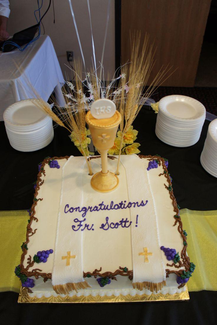 Ordination Cake Cake Decorating In 2019 Cake