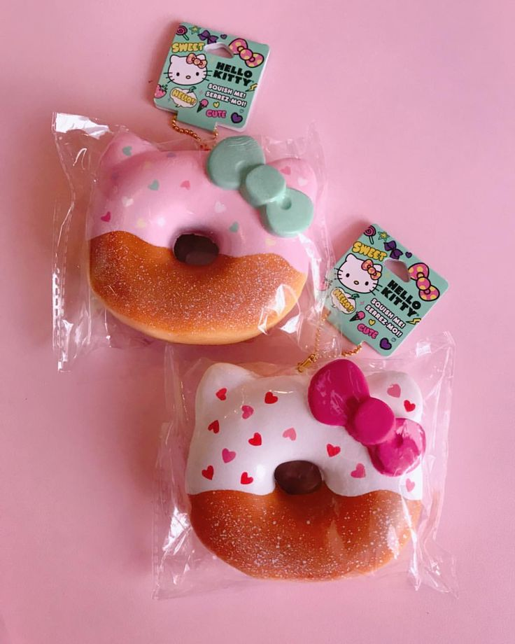 "267 Likes, 10 Comments - @hellokittycollector2015 on Instagram: ""HELLO KITTY HEART DONUT SQUISHIES!(Claire's) #hellokitty #ilovehellokitty #myhellokitty…"""