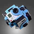 Record / Shoot 360° videos with Freedom360, 360Heros or other 360 rigs and mounts | 360-videos