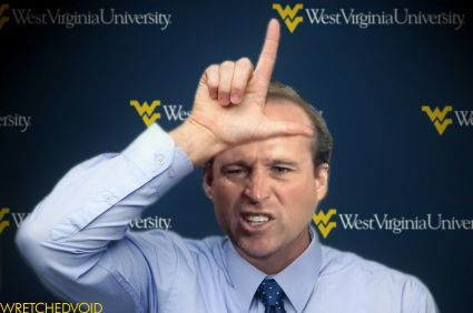 WVU Football Coach Dana Holgorsen Post Game, You're a Loser! Humor #WVU