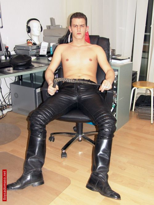 from Kaison hot men in leatherpants