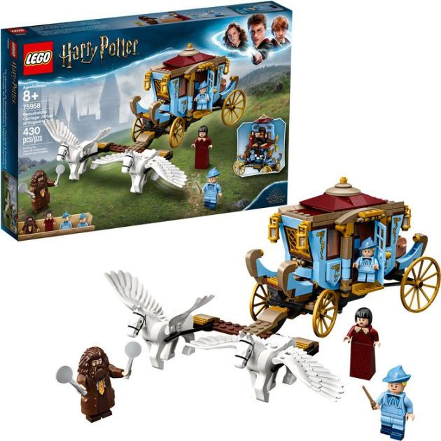 Lego Harry Potter Beauxbatons Carriage Arrival At Hogwarts 75958 In 2021 Harry Potter Lego Sets Harry Potter Toys Lego Harry Potter