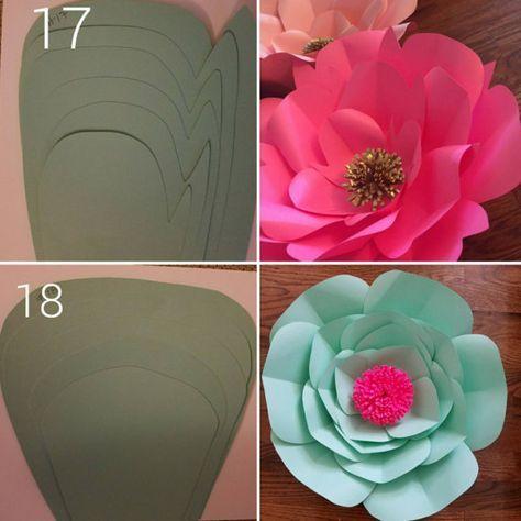 plantillas de flores digital