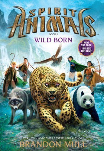 Wild Born (Spirit Animals), Mull, Brandon Book The Cheap Fast Free Post
