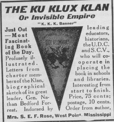Ku Klux Klan, America in the 1920s, Primary Sources for Teachers ...