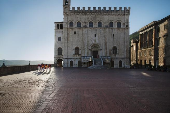 Palazzo dei Consoli - Gubbio - Sensational Umbria - Italy: Photography © 2012 Steve McCurry