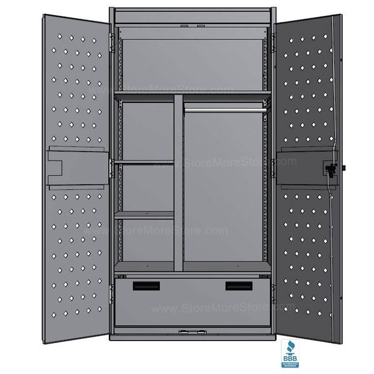 Police Tactical Gear Storage Locker | Military Wall Lockers