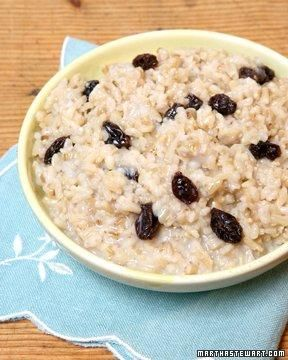 Whole Grain Goodness // Martha's Favorite Oatmeal Recipe: Martha Favorite, Brown Rice, Eating Breakfast, Cereal Recipes, Martha Stewart, Favorite Recipes, Breakfast Recipes, Favorite Oatmeal, Oatmeal Recipes