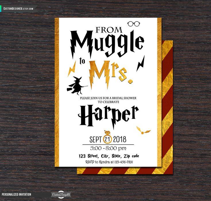 Best 25+ Harry potter invitations ideas on Pinterest | Harry ...