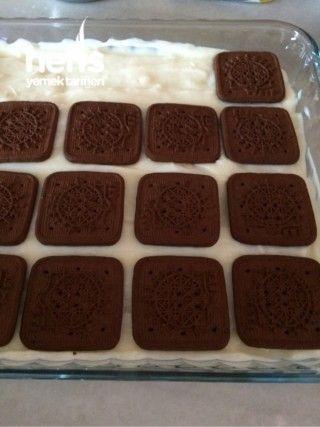 Çikolata Soslu Bisküvili Tatlım