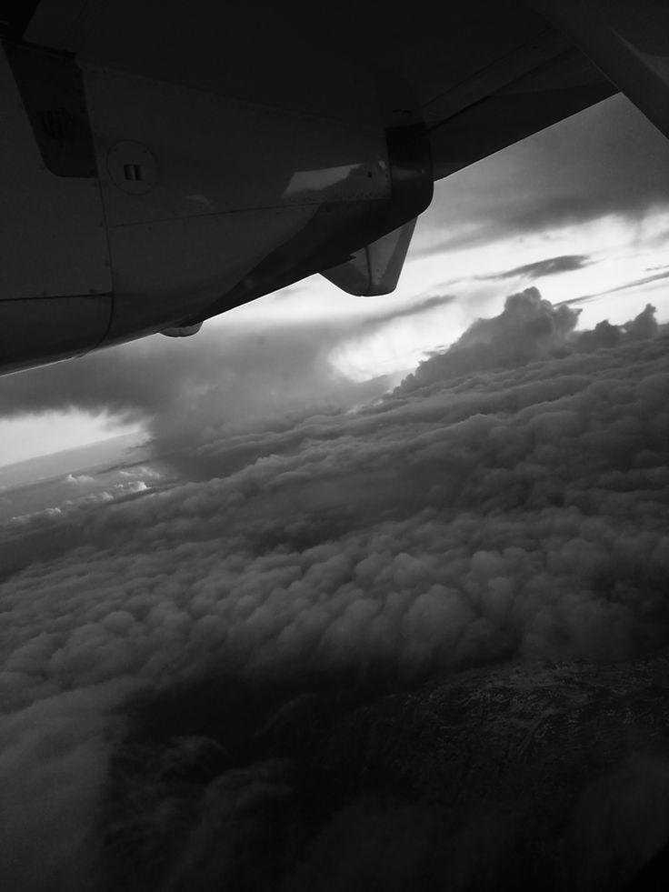 Vue du ciel - Corse  Quelque part dans le ciel.