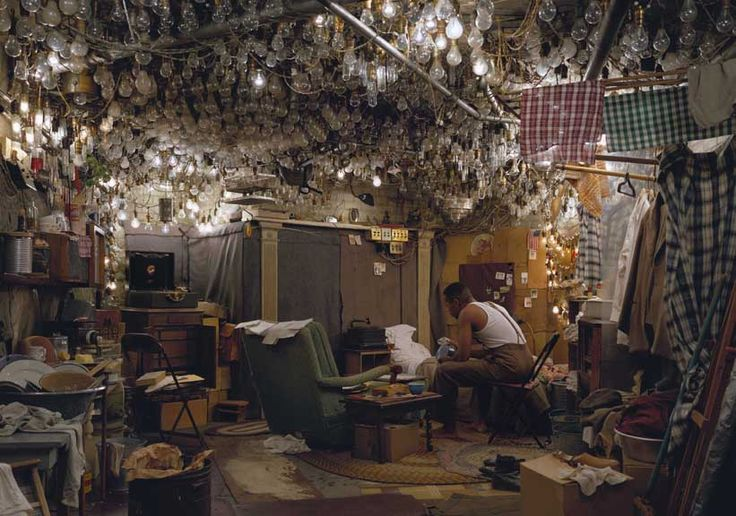 After 'Invisible Man' by Ralph Ellison, Jeff Wall, 1999-2000