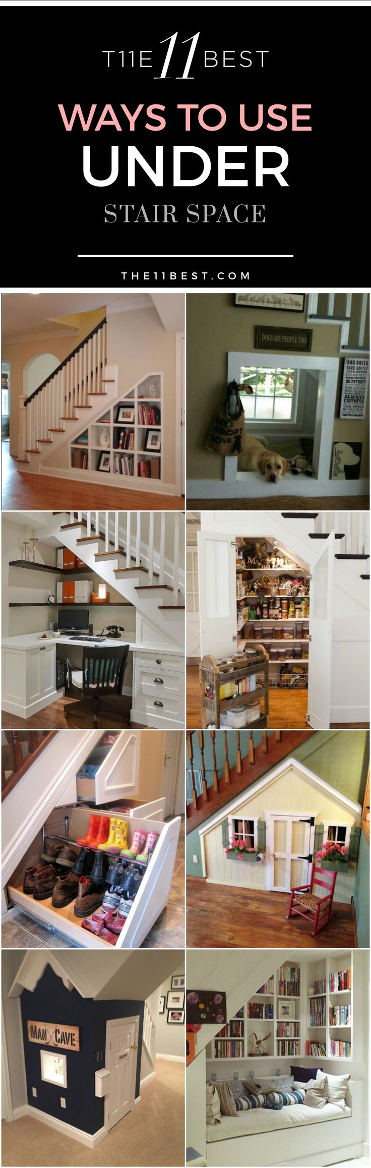The 25 best ideas about bar under stairs on pinterest under the stairs under basement stairs - Basement stair ideas pinterest ...