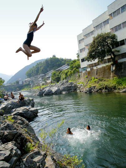 空飛ぶ河童@岐阜・郡上八幡(Gujyo-Hachiman, Gifu)