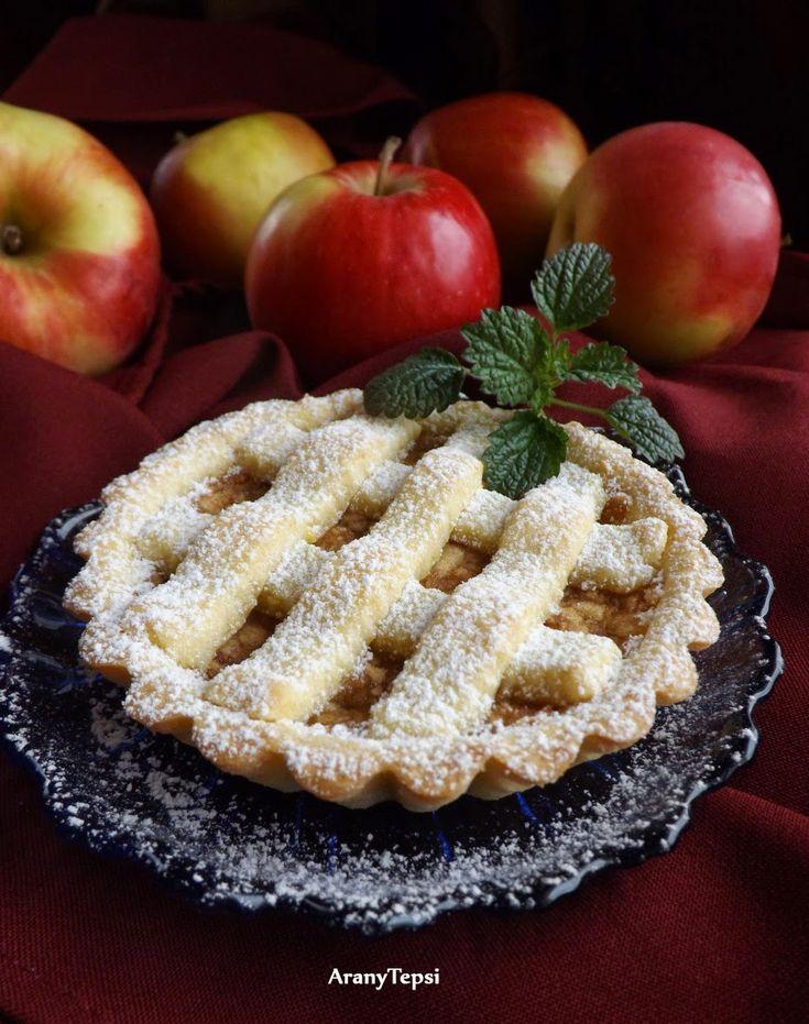 AranyTepsi: Rácsos almás kosárkák