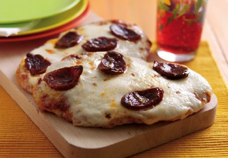 Easy Spicy Pitta Pizzas #SummerSavers #win
