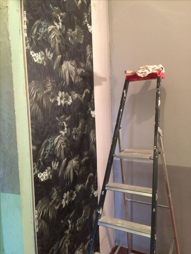 The House of Hackney wallpaper is comming up.