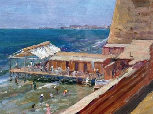 Città di Nettuno -dipinti d'epoca