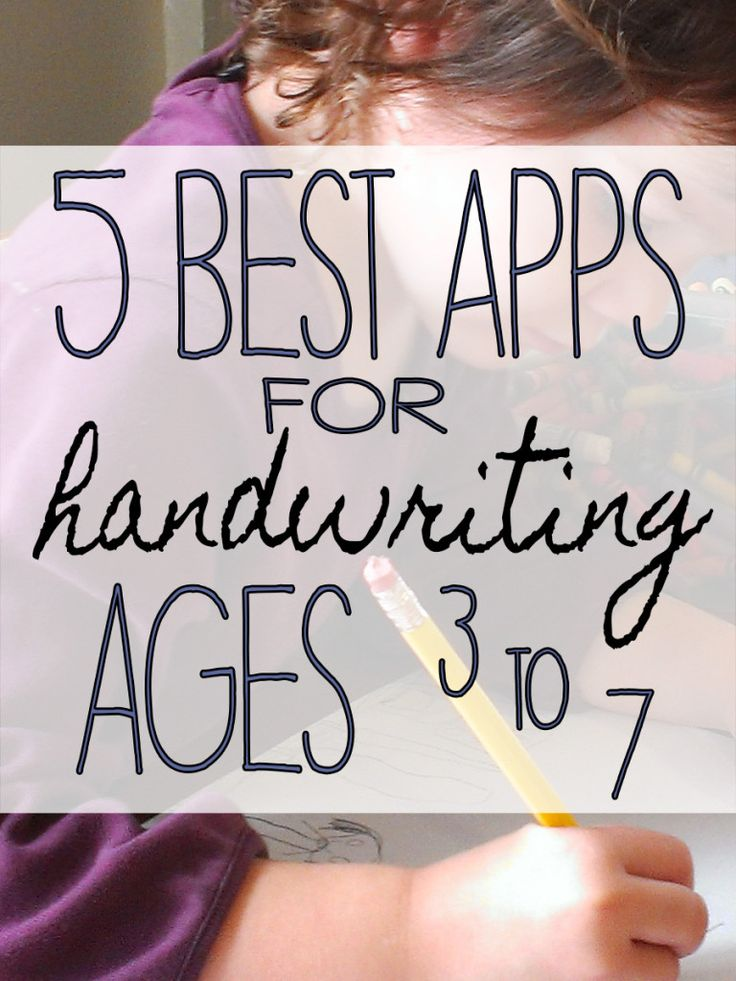 Best iPad Apps to for Kids to Practice Handwriting.
