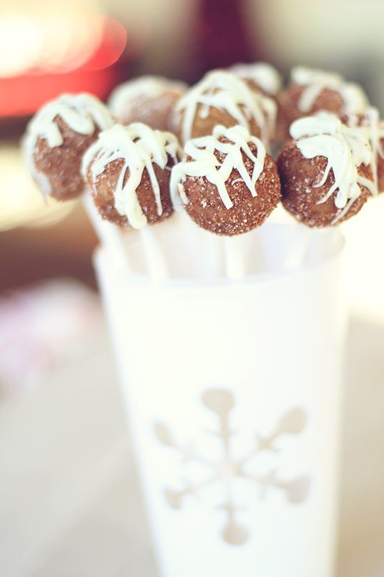 Gingerbread Truffle Pops: Gingerbread Party, Truffle Pops A, Cakepop ...