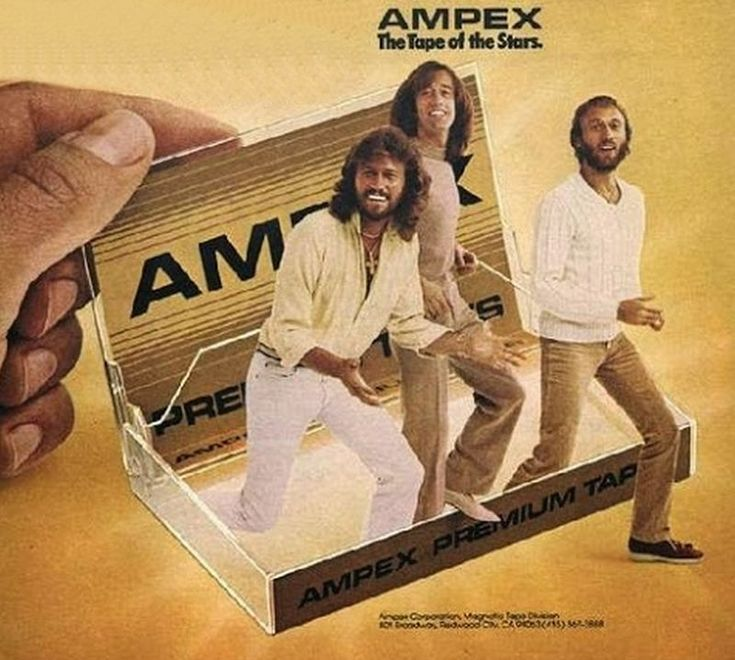 You should be dancing -  Bee Gees / AMPEX