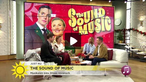 Intervju med Christopher och Elisa från Nyhetsmorgon på TV4.
