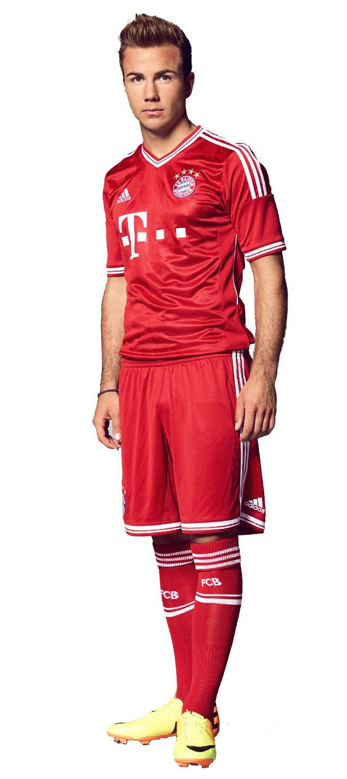 Mario Gotze of Bayern Munchen- maybe next lifetime....