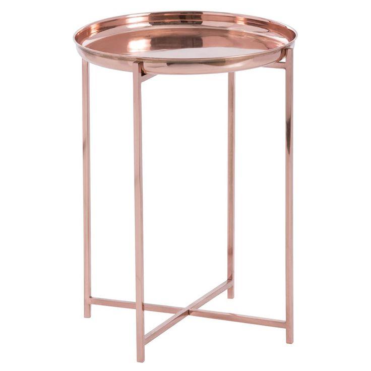 Arteriors Malika Copper Accent Table