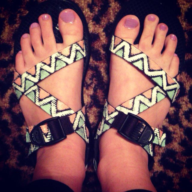 Finally did my DIY chacos! Pinning this so I don't forget to do another pair!