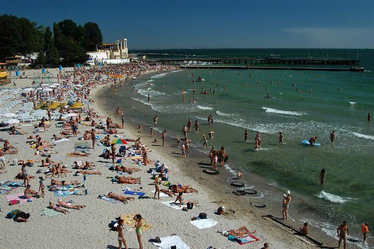 Arkadia Beach, Odessa, Ukraine.