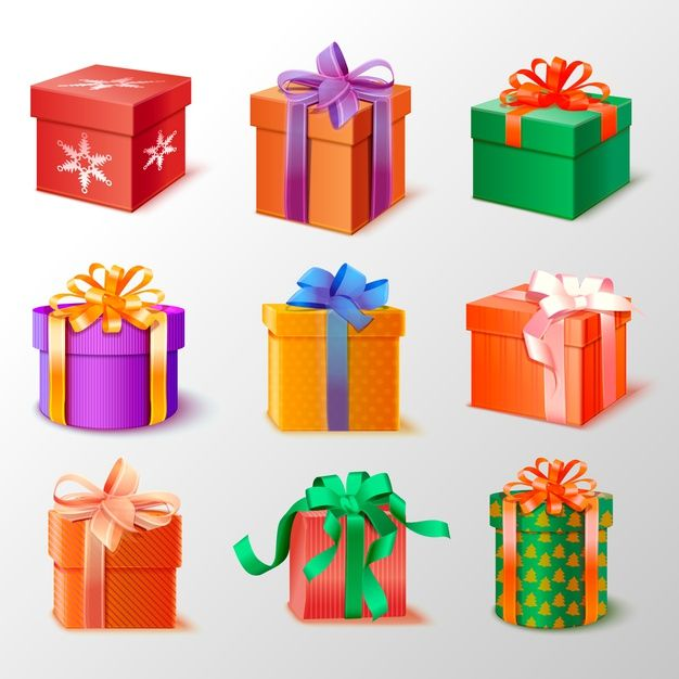 Download Realistic Christmas Gift Collection For Free Gift Collections Christmas Gifts Gifts
