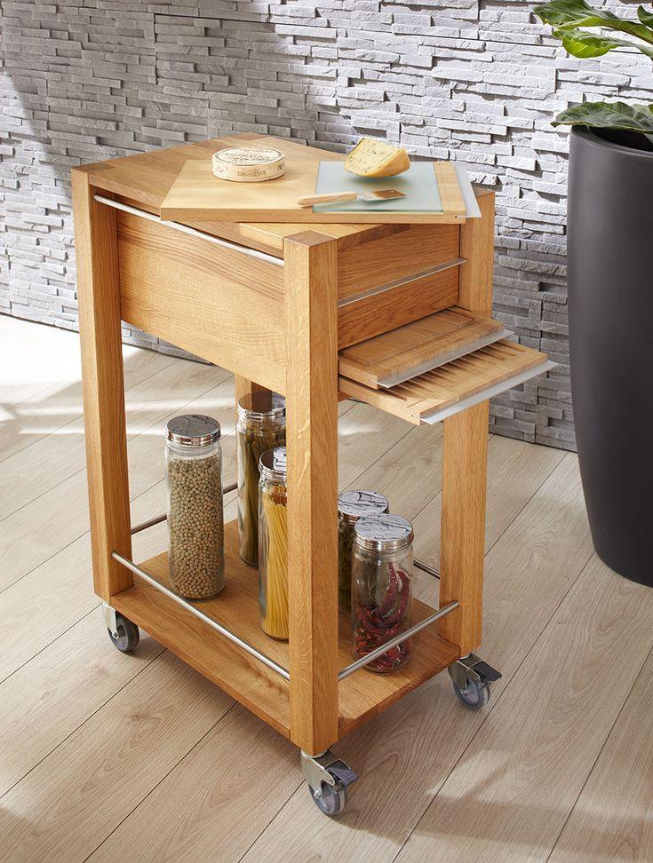 Tolle küchenwagen massivholz - #Küchen | Küchenwagen holz ...