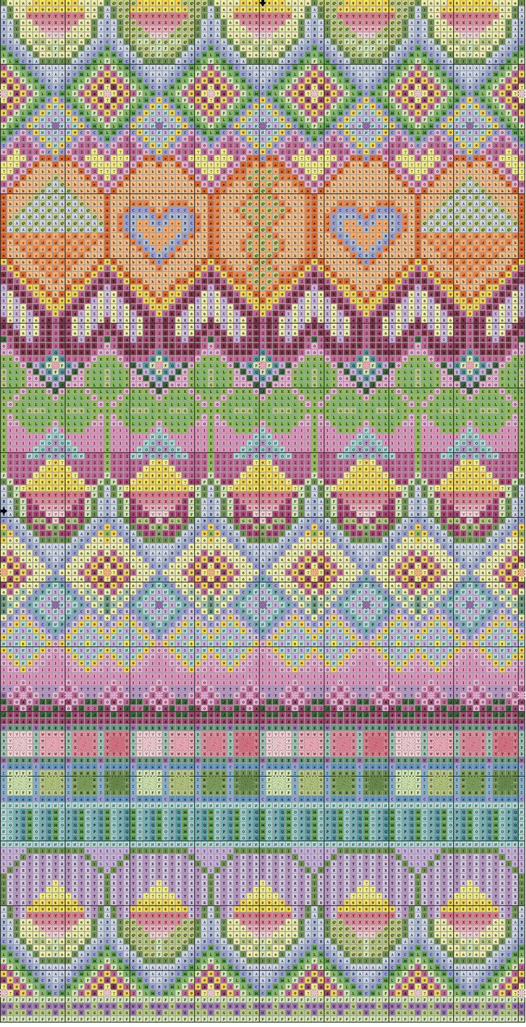 colorful-tapestry by embroiderbee