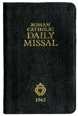Sisters of Carmel - 1962 Roman Catholic Missal, $63.95 (http://www.sistersofcarmel.com/1962-roman-catholic-missal/)