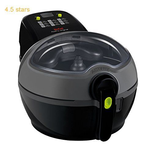 (Rating: 4.5 stars) Tefal ActiFry Low Fat Fryer 1 kg  Black Tefal ActiFry Low Fat Fryer has a rating of above 4 stars and remains among the best online products in Kitchen  category. Click below to see its Availability and Price in your country.