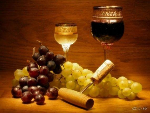 Картинки для декупажа - Виноград