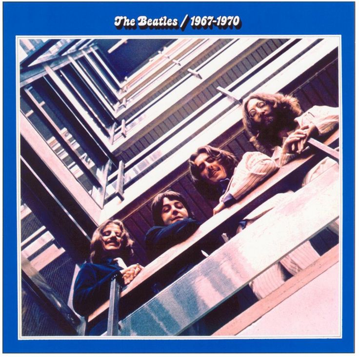 The Beatles - Blue Album 1967-1970