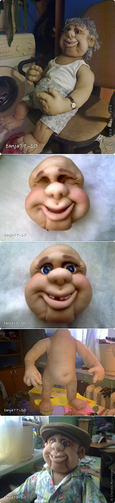 Uncle Jack.  Doll of nylon.