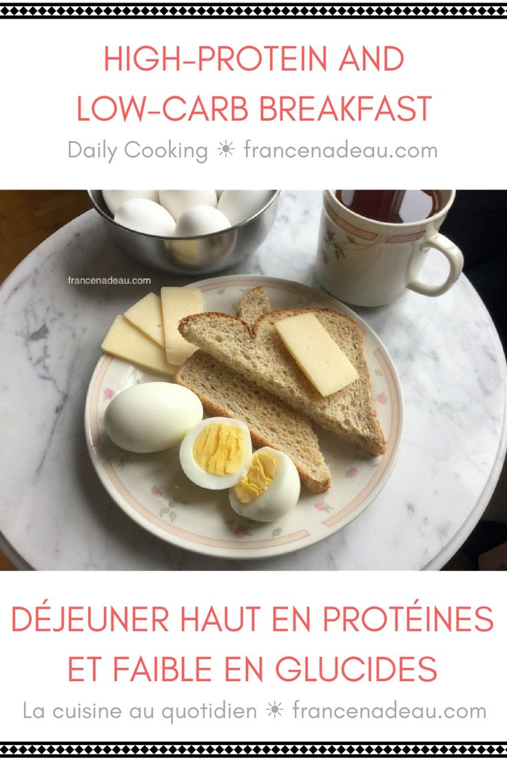 High-protein and low-carb breakfast - Daily Cooking - francenadeau.com