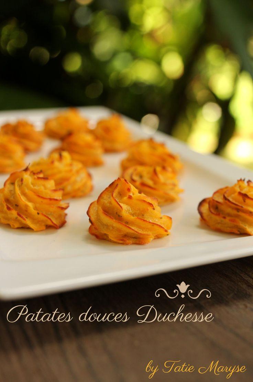 Avec ces patates douces duchesse, vos assiettes auront de suite une allure classe et pétillante ! Une recette créole colorée signée Tatie Maryse !