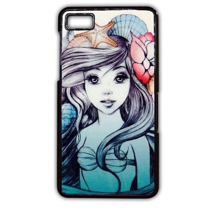Little Mermaid Tattoo Sleeve TATUM-6580 Blackberry Phonecase Cover For Blackberry Q10, Blackberry Z10