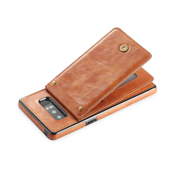 Bakeey Detachable Card Slot Stand Leather Case for Samsung Galaxy Note 8 Sale - Banggood.com