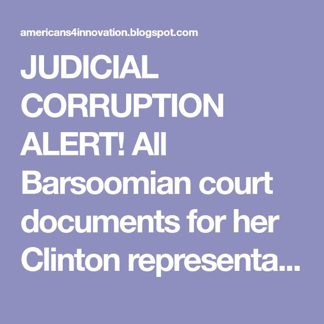 JUDICIAL CORRUPTION ALERT! All Barsoomian court documents for her Clinton representation in Hamburg v. Clinton 98-cv-01459-TPJ (DC District Court) and its appeal Hamburg, Al v. Clinton, William J., Case No. 99-5053 (DC Circuit Court) have been removed from the D.C. District and Appeals Court dockets.