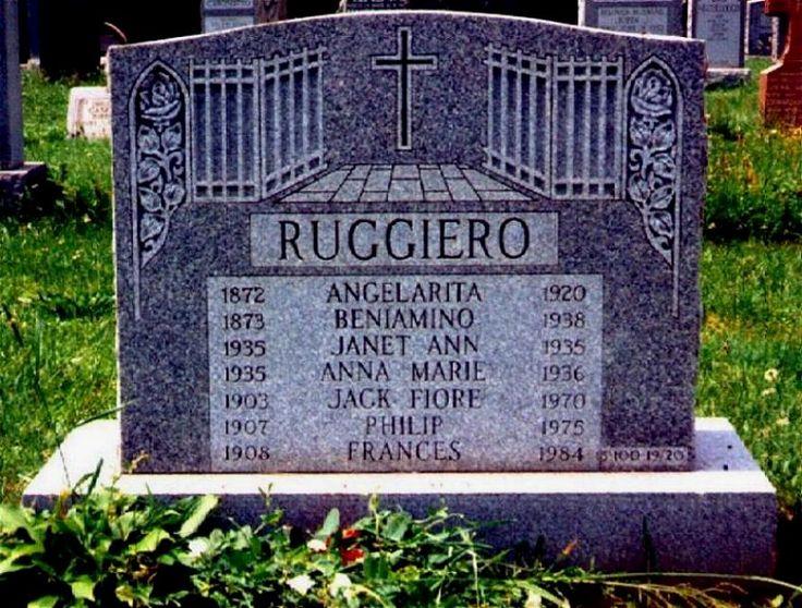 """Benjamino """"Lefty Guns"""" Ruggiero (1926 - 1994) - Find A Grave Photos"""