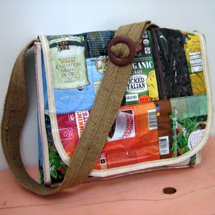 Patchwork Coffee Bag Messenger Tote** omg, I need someone to make me one!!**