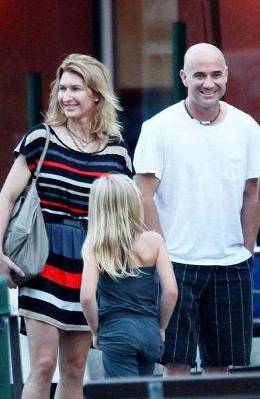 Andre Agassi y Steffi Graf, de vacaciones en Portofino #people #celebrities #couples #tennis