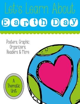 UPDATED Feb 2014: Help your students learn about Earth and keeping it clean with this 68 page Earth Day unit and craft pack.  This pack includes: *Book Suggestions *1 Writing Prompt *Earth Day Related KWL and Anchor Charts *Classroom Chart Parts *Earth Day Circle Maps *Earth Day Fact Sheets *Earth Day Vocabulary *Earth Day Graph & classroom graph parts *Earth Day Posters *Reduce, Reuse, Recycle List Activity Pages *Happy and Unhappy Earth Activity & Class Parts *1 Classroom Earth Day ...