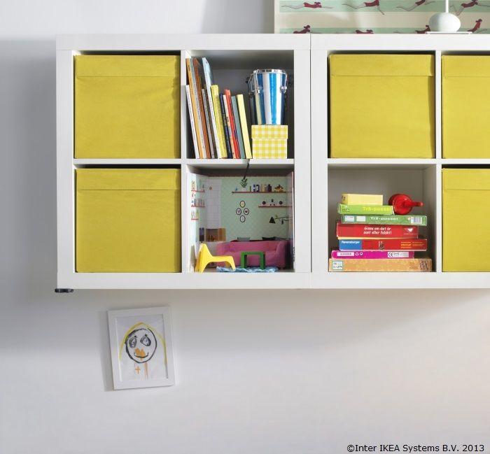 Aranjează lucrurile în cutii colorate . Vei avea ordine și bucurie pe aceeași etajeră.